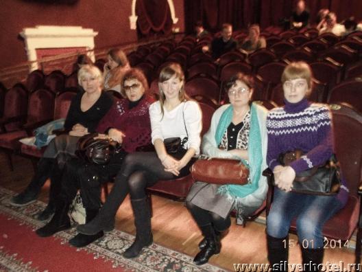 Новогодний поход в театр